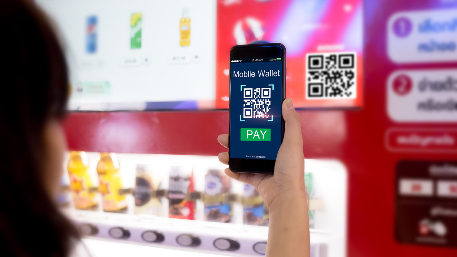 Consider smart vending machines