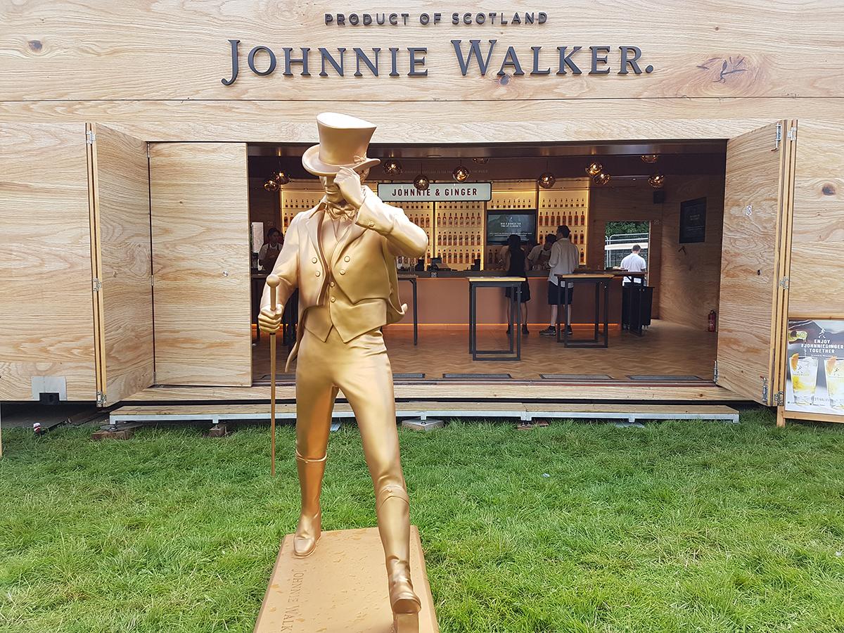 Johnnie Walker Statue