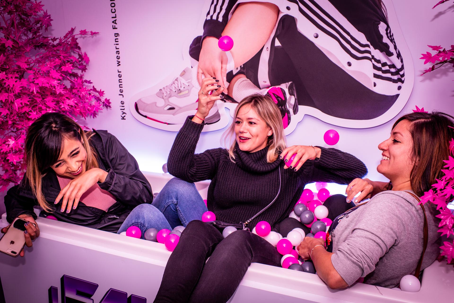 Immersive Experience for 2018 Adidas Falcon Launch   Purity