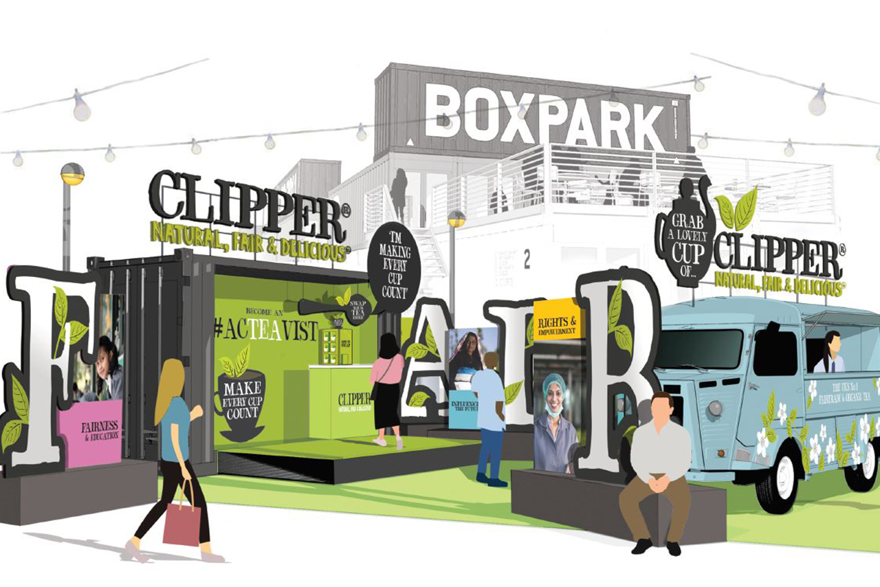 Clipper Creates Tea Swap Pop Up