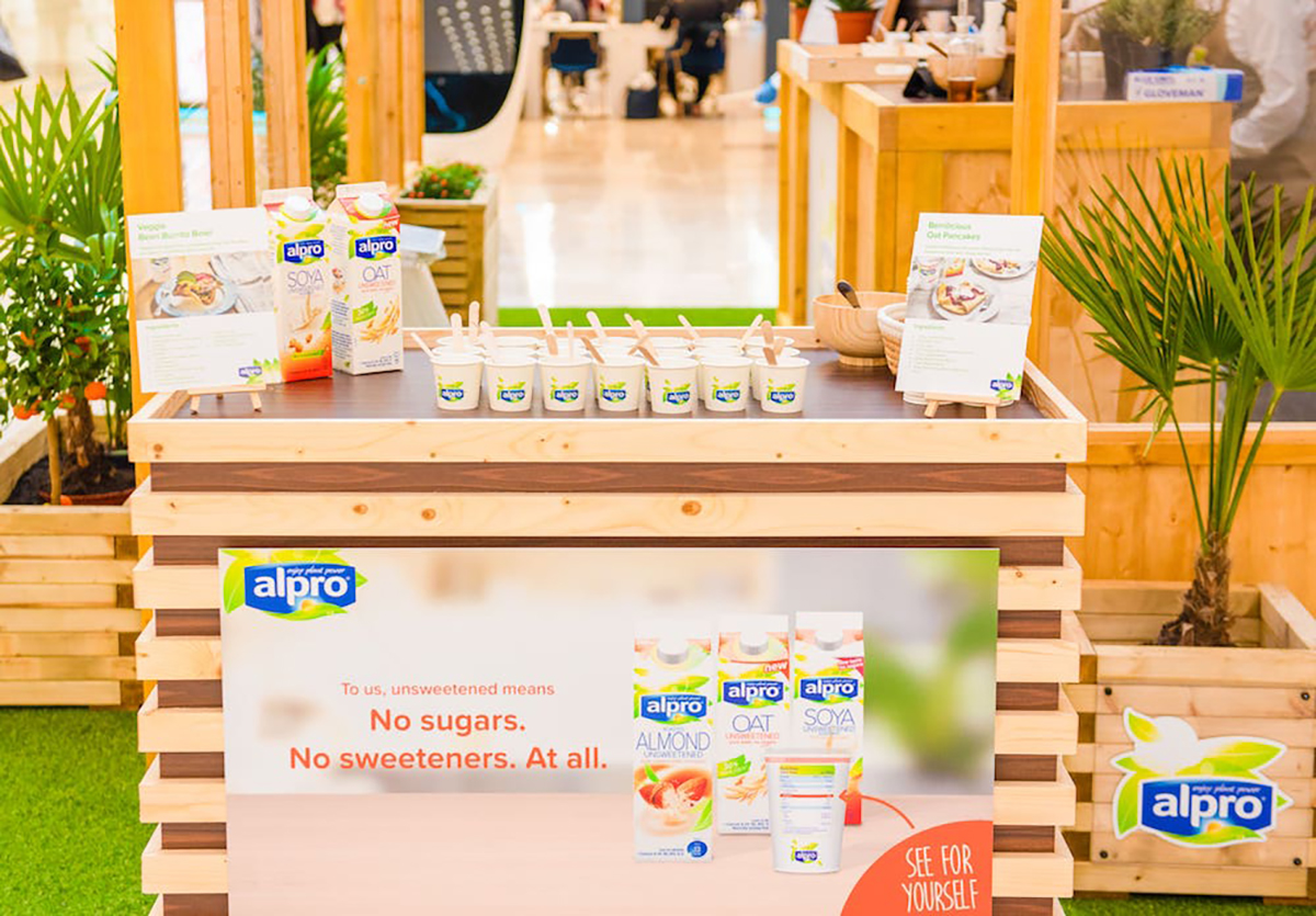 Alpro stand
