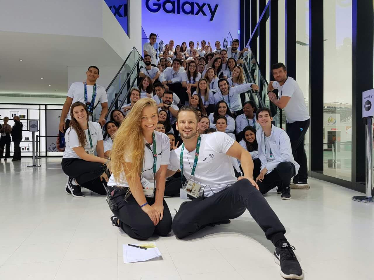 Group of Samsung Galaxy staff