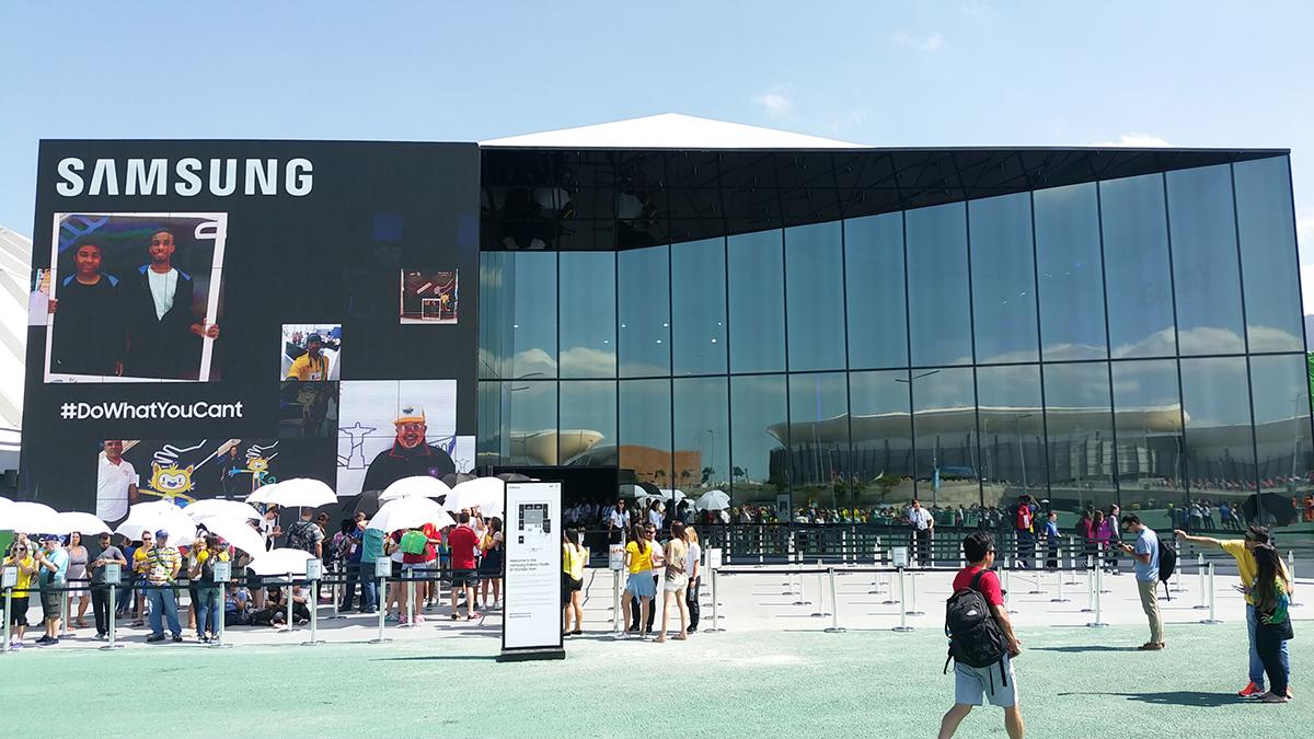Samsung Rio event