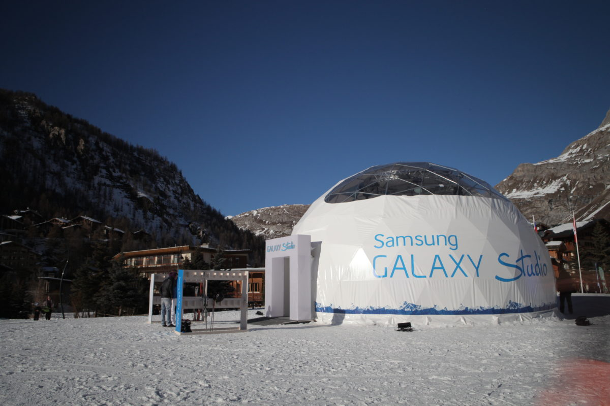 Galaxy Studio Snow