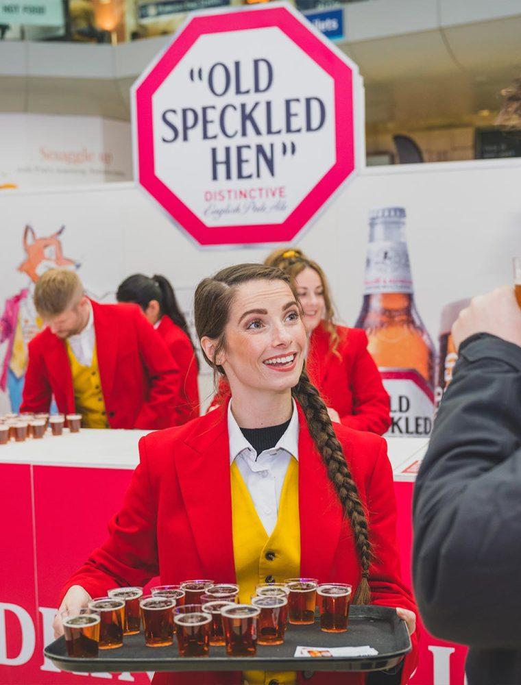 Old Speckled Hen - Product Sampling Campaign
