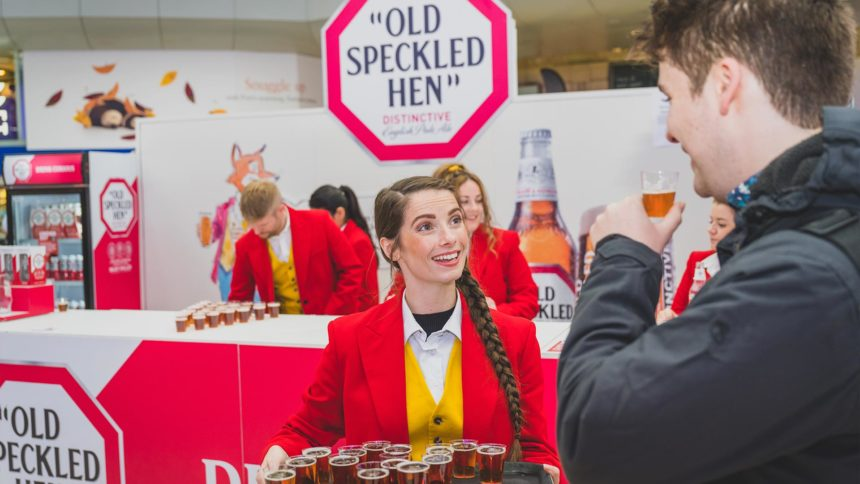 Old Speckled Hen - Product Sampling Campaign