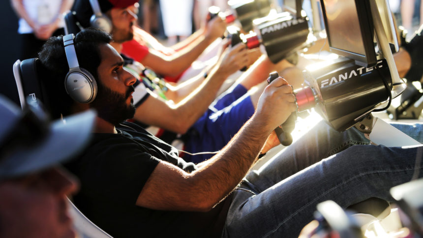 Formula One World Championship driving similation