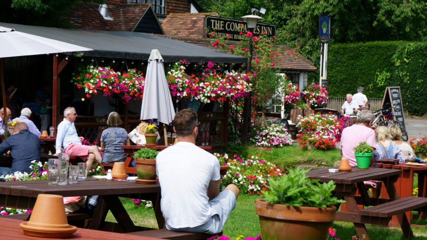 Re-establishing human connections in the Pub Garden Cover Image