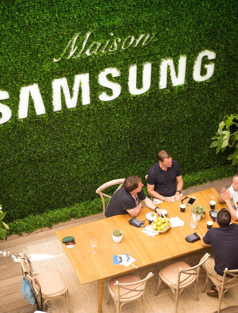 Maison Samsung - Cannes Lions