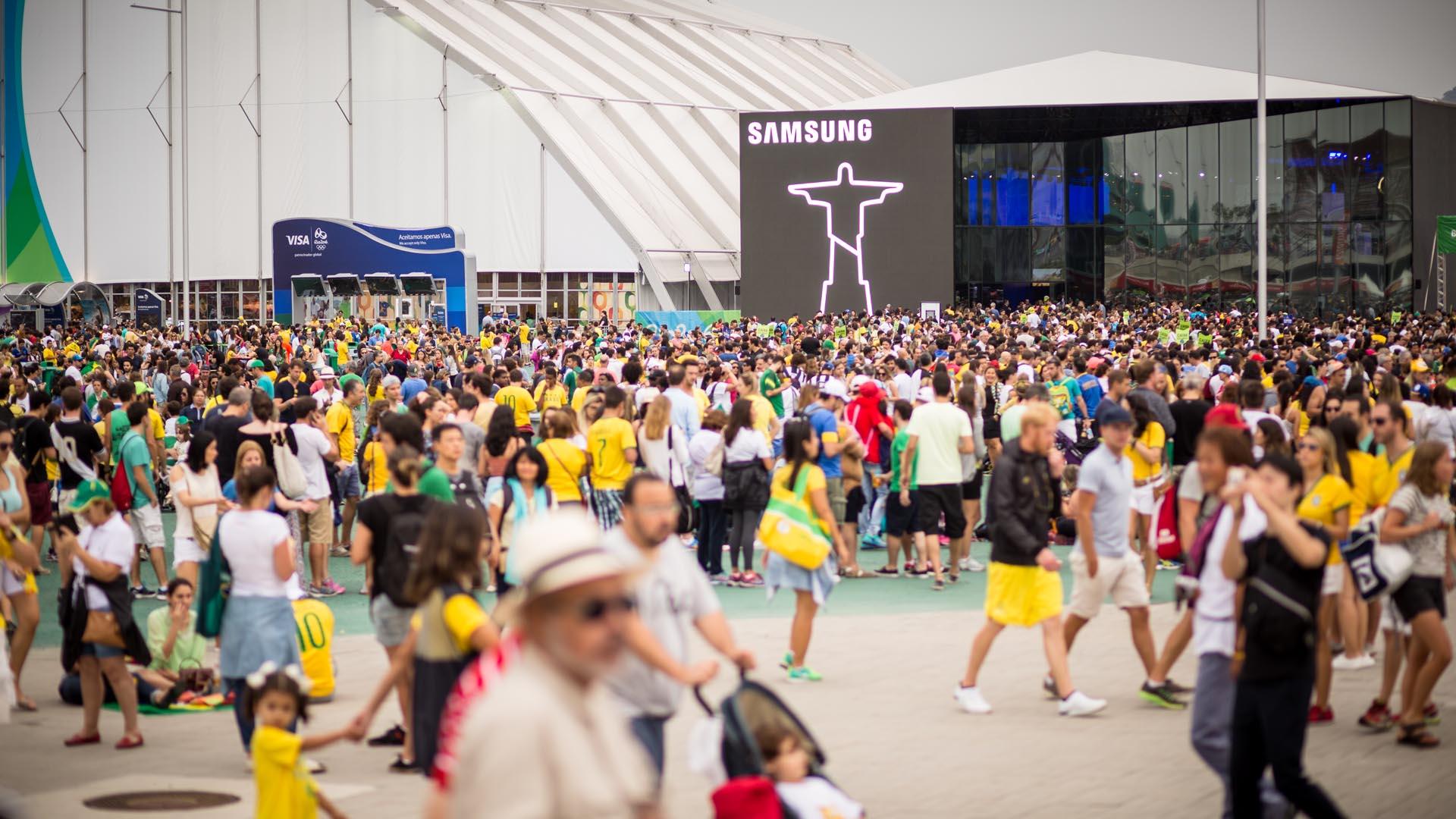 Samsung at Rio