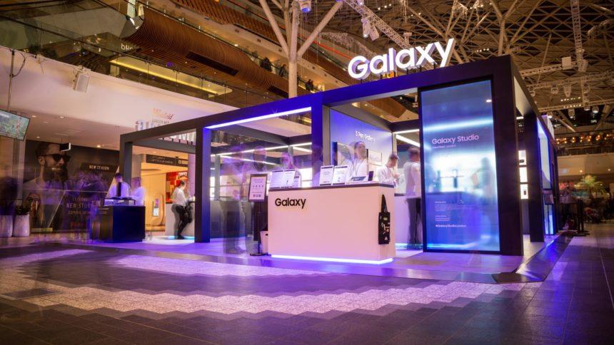 Samsung – Studio Westfield Samsung Stand